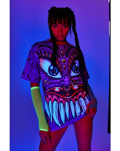 Neon Nightmares Graphic Tee