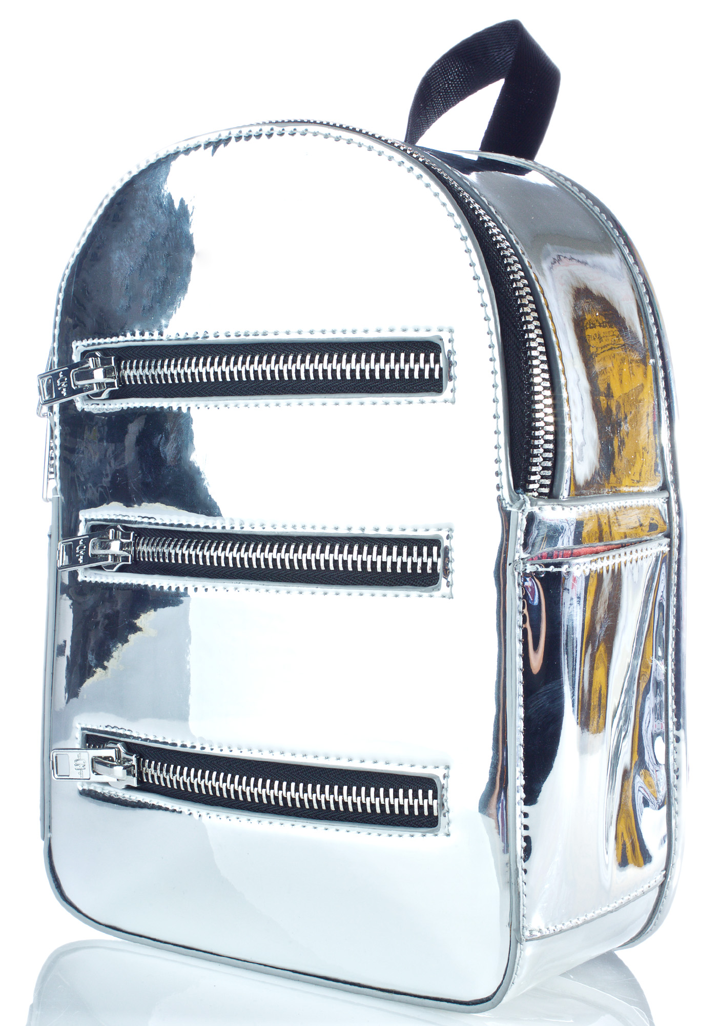 Current Mood Silver Mirror Backpack
