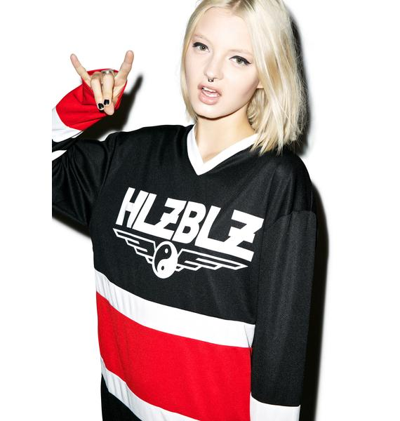 HLZBLZ Puck You Hockey Jersey