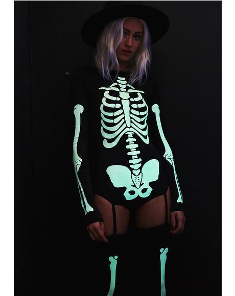 Voodoo Glow Skull Costume