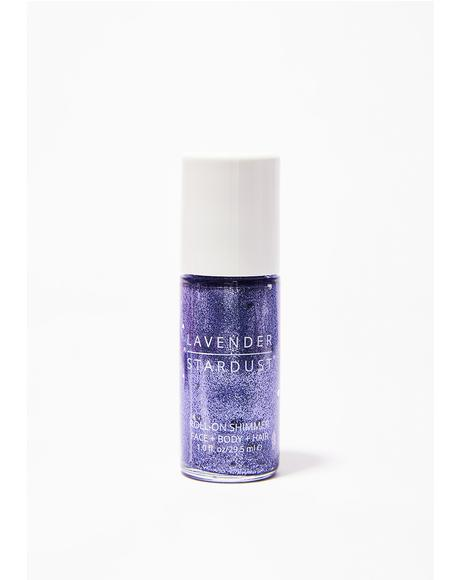 Amethyst Roll-On Shimmer Body Glitter