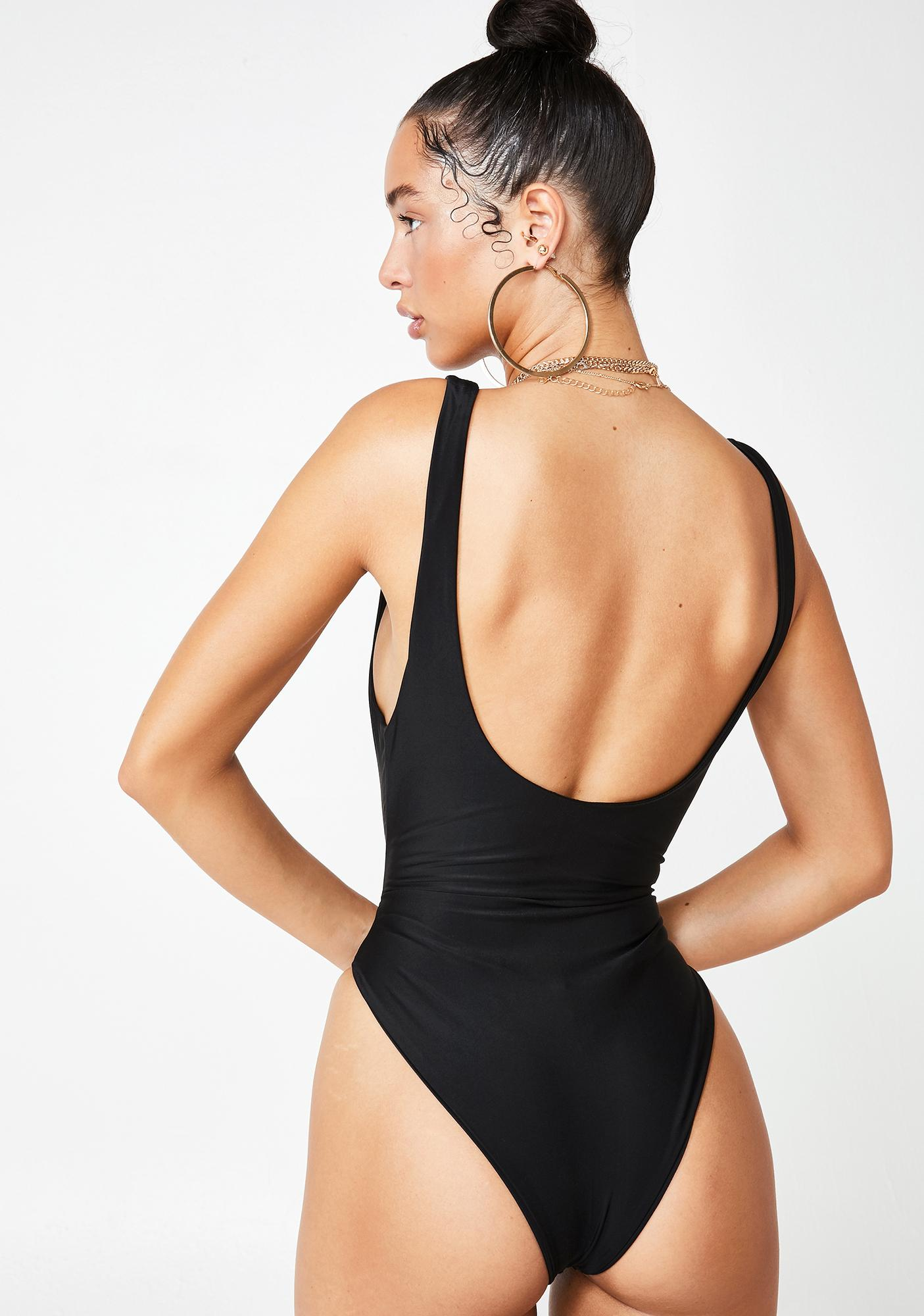 Tiger Mist Elle Cut Out Bodysuit