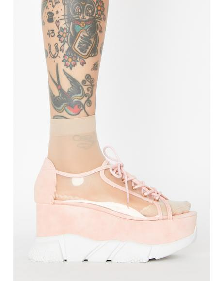 Wutz Up Clear Sneakers