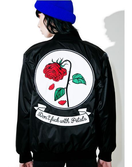 Fuck With Petals Reversible Jacket