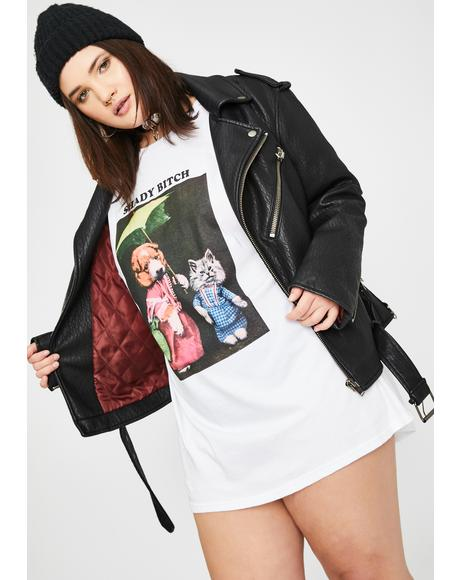 Plus Shady Bitch Graphic Tee