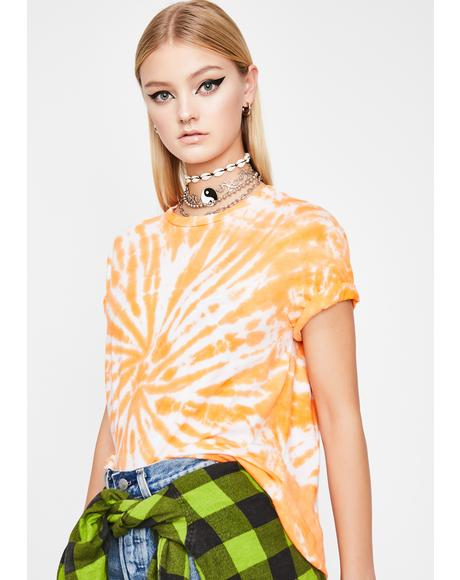 Juiced High Summer Tie-Dye Tee