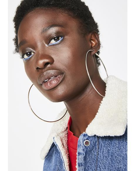The Bigger The Hoop Earring Set