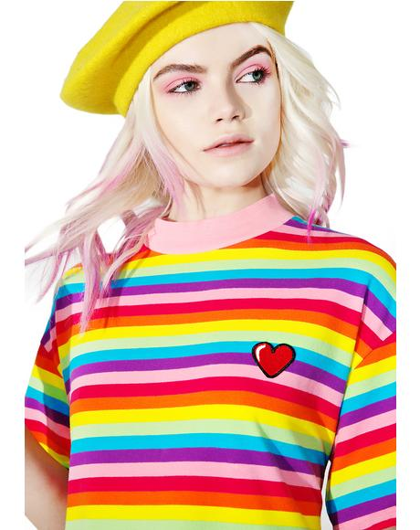 Rainbow Sally Sack Dress