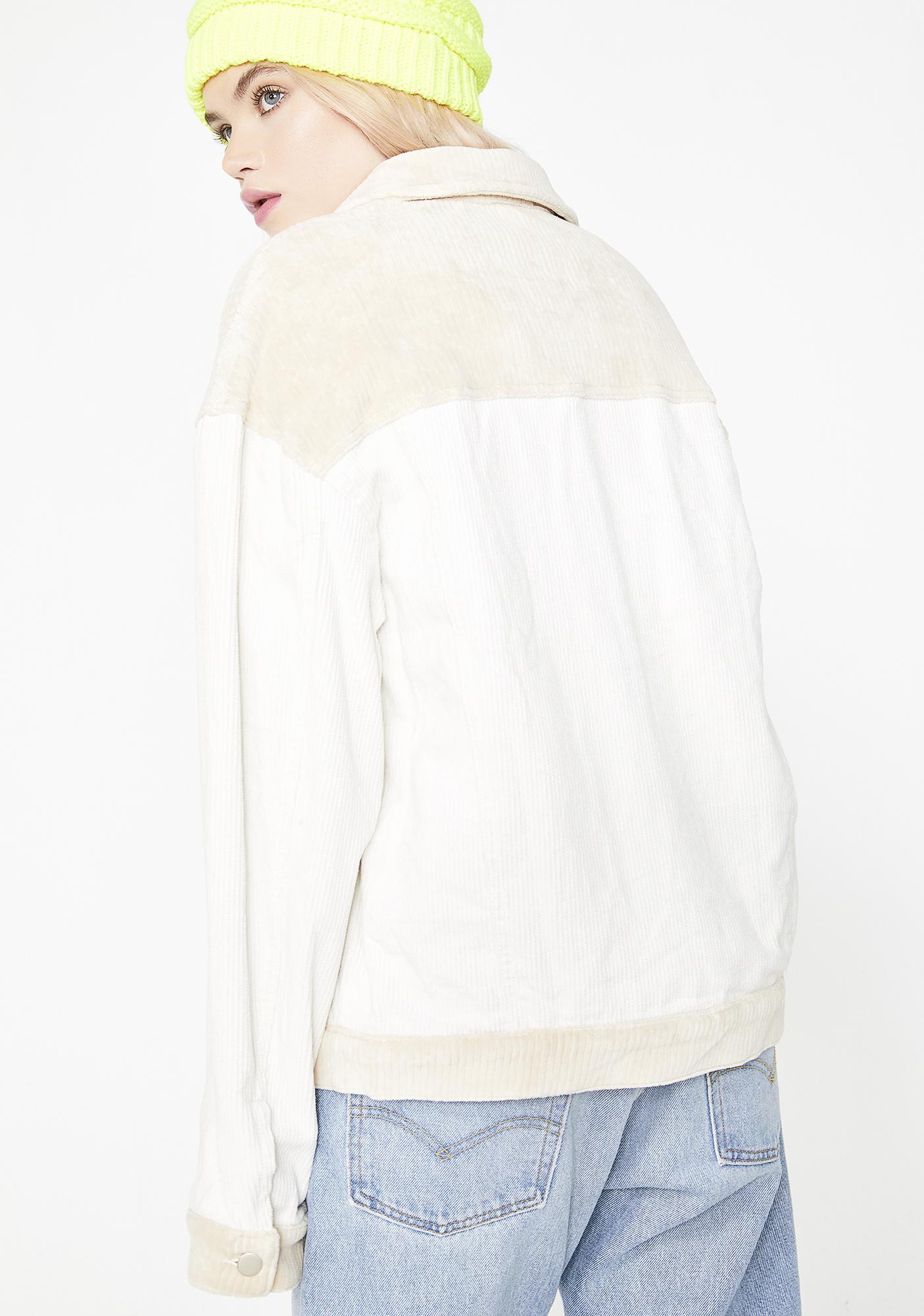Natural Born Lova Corduroy Jacket