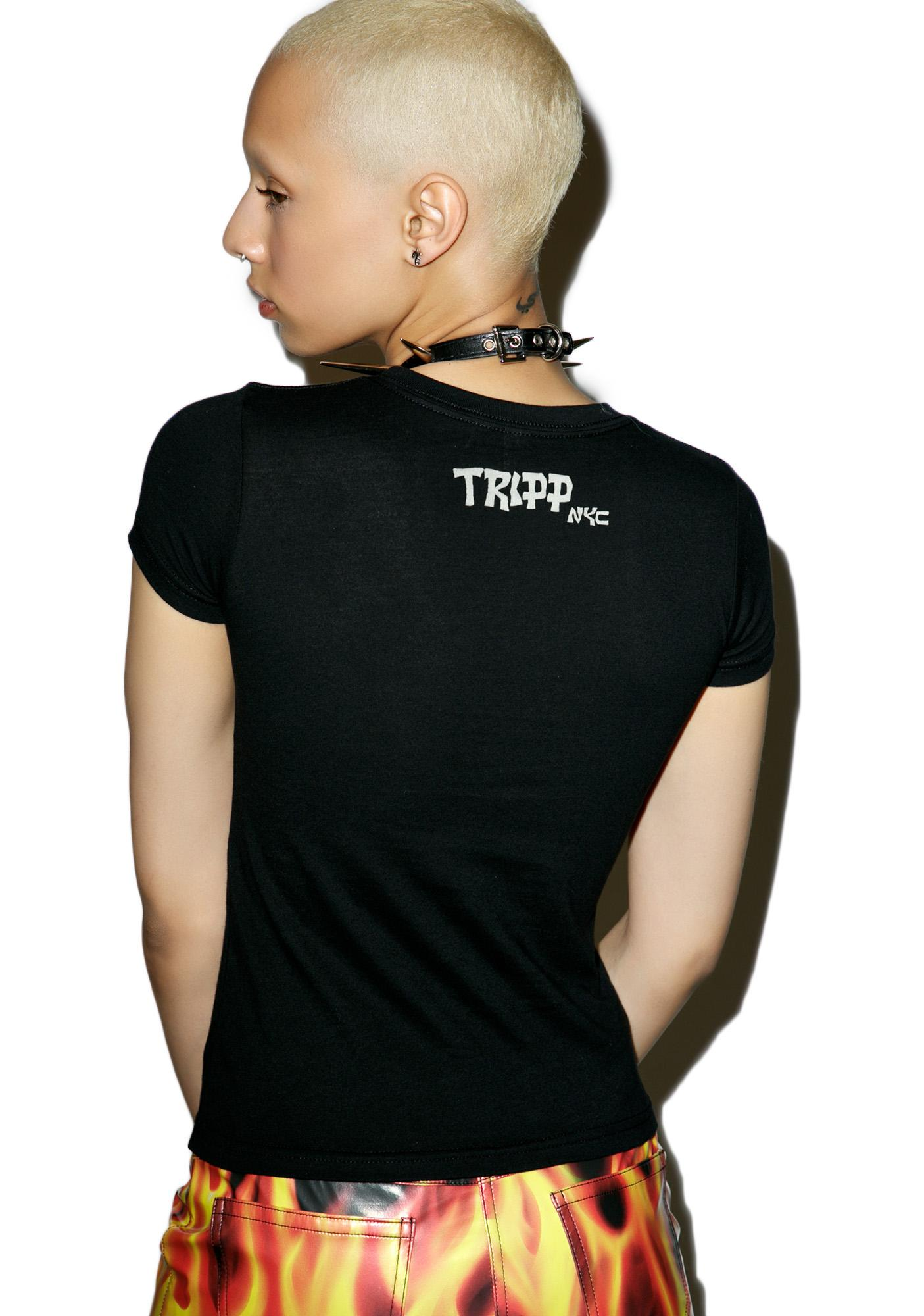 d1c22e148d Tripp NYC Punk Logo T-Shirt | Dolls Kill