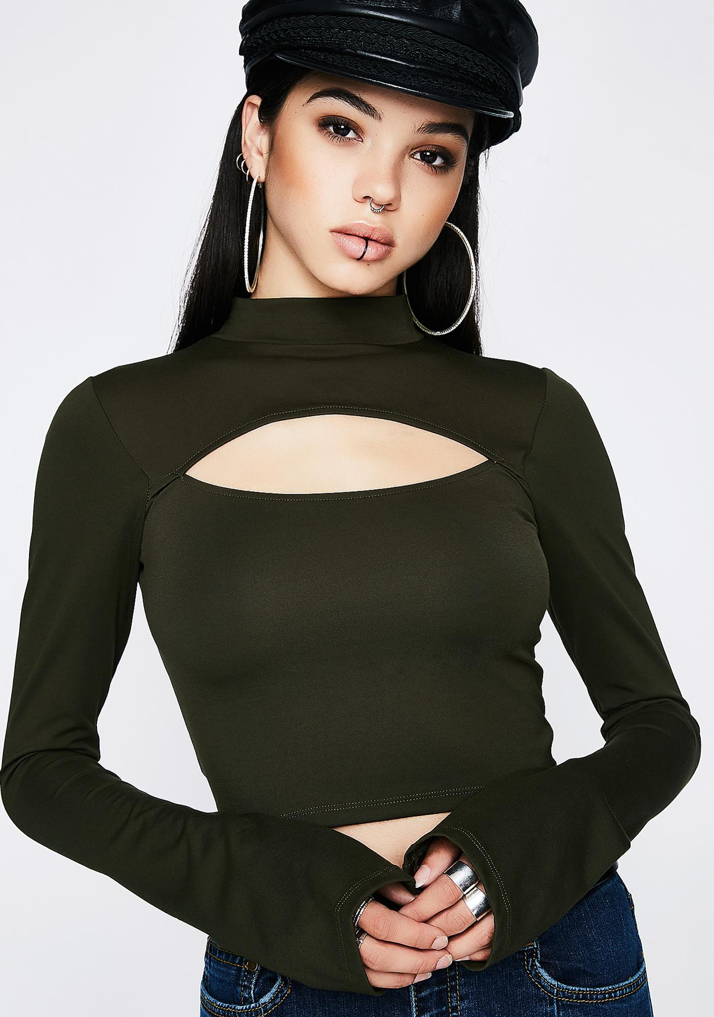 Poster Grl Army Lucky Streak Cut-Out Top