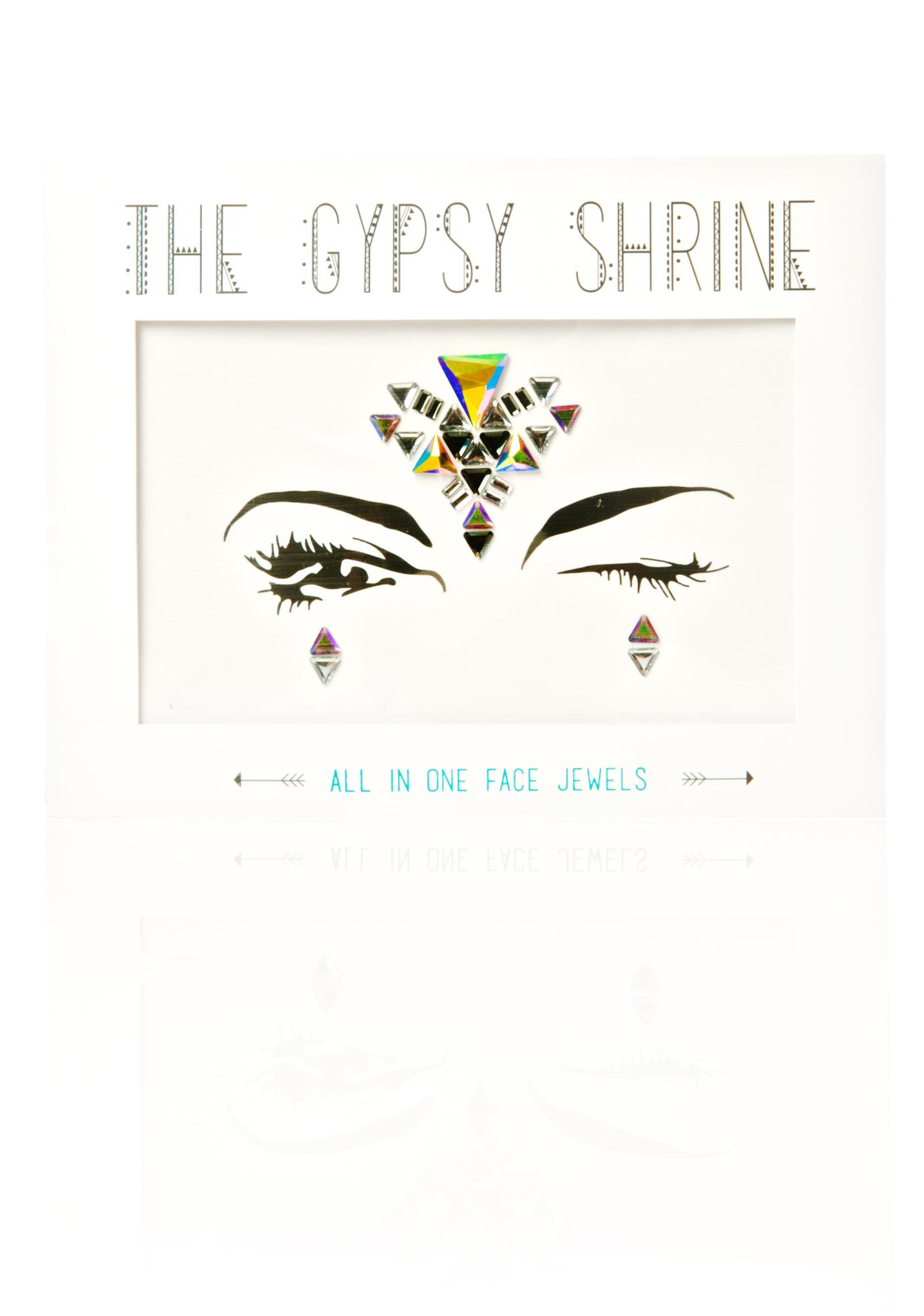 The Gypsy Shrine Midnight Aura Face Jewels