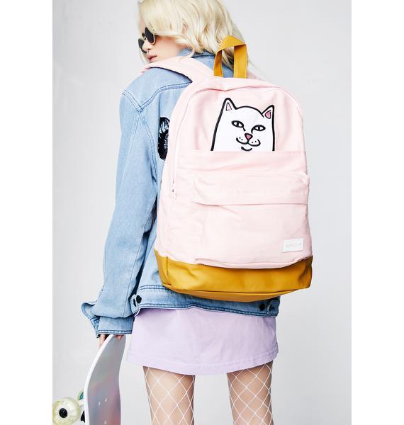RIPNDIP Pink Lord Nermal Backpack
