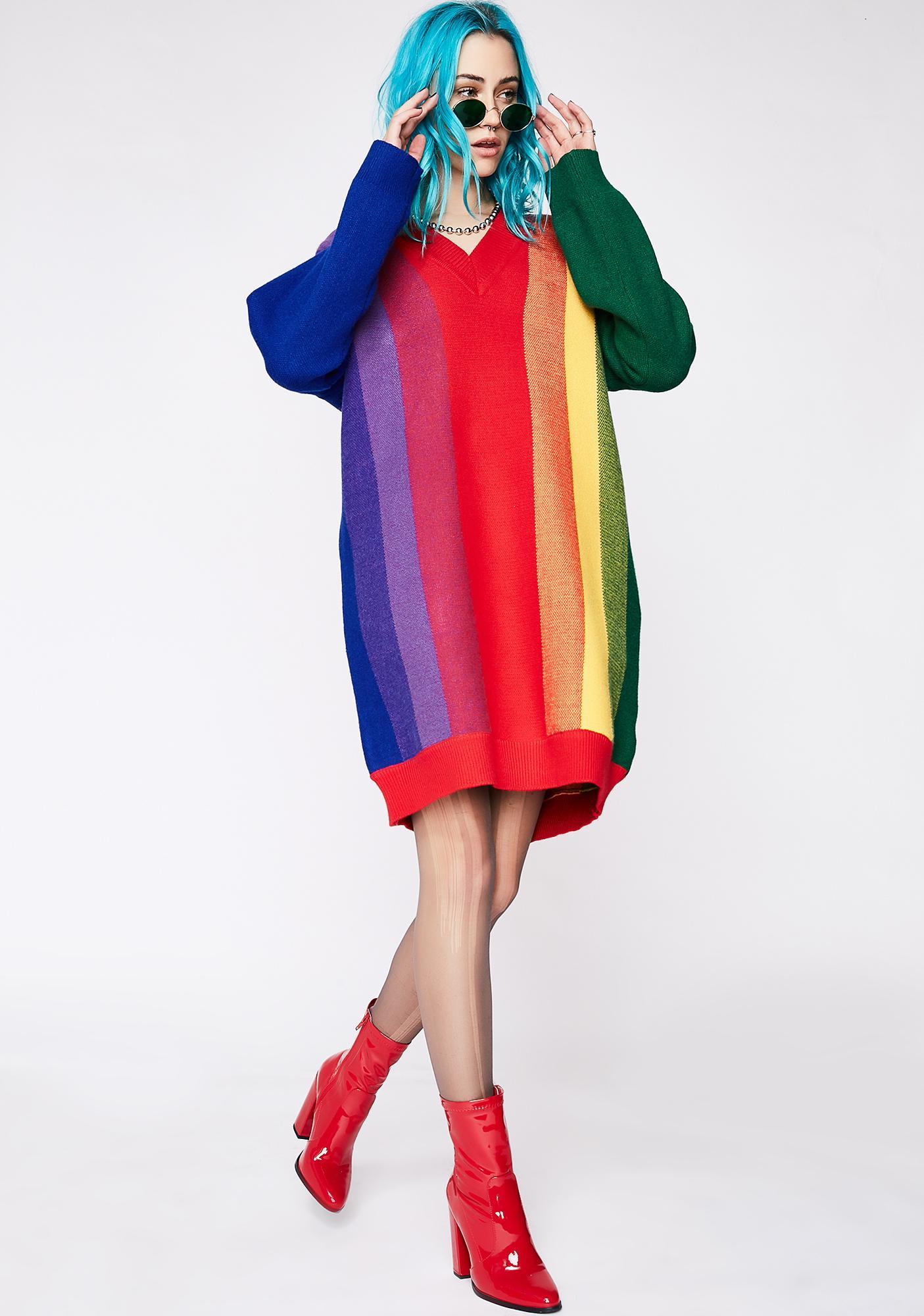 Seeing Rainbows Dress