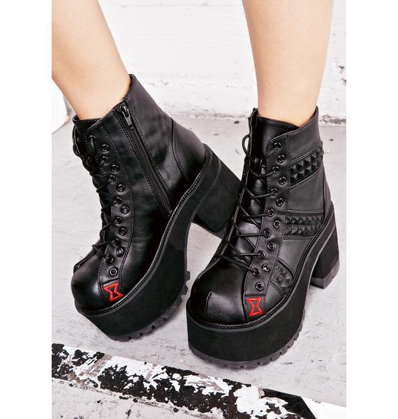 Demonia Venomous Boots