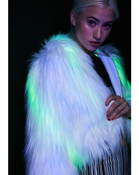 Spark The Light Faux Fur Coat
