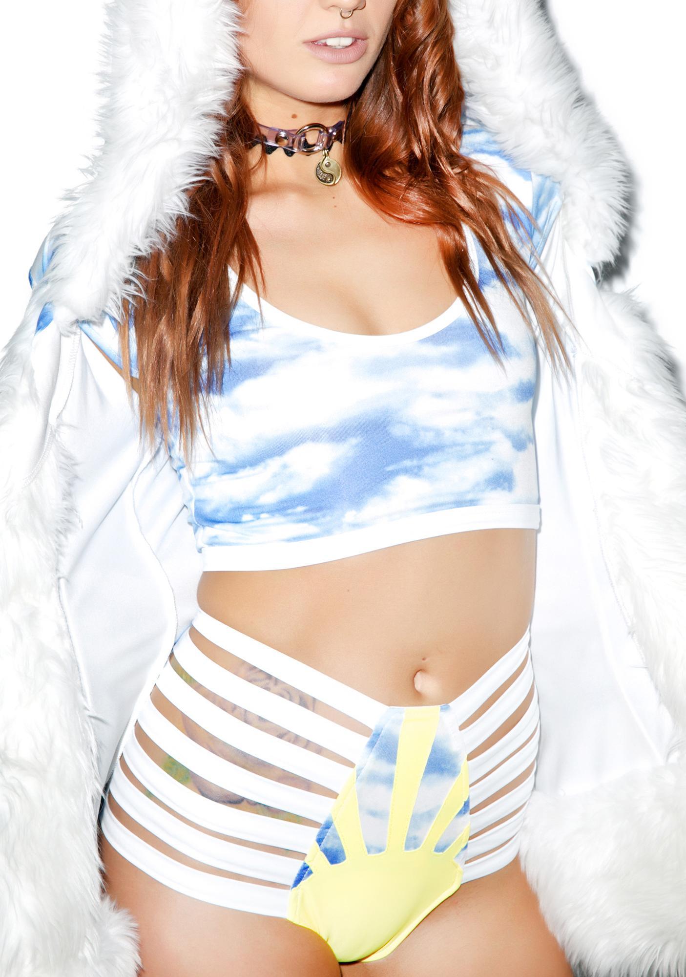 J Valentine Sunny Daze Strappy Shorts