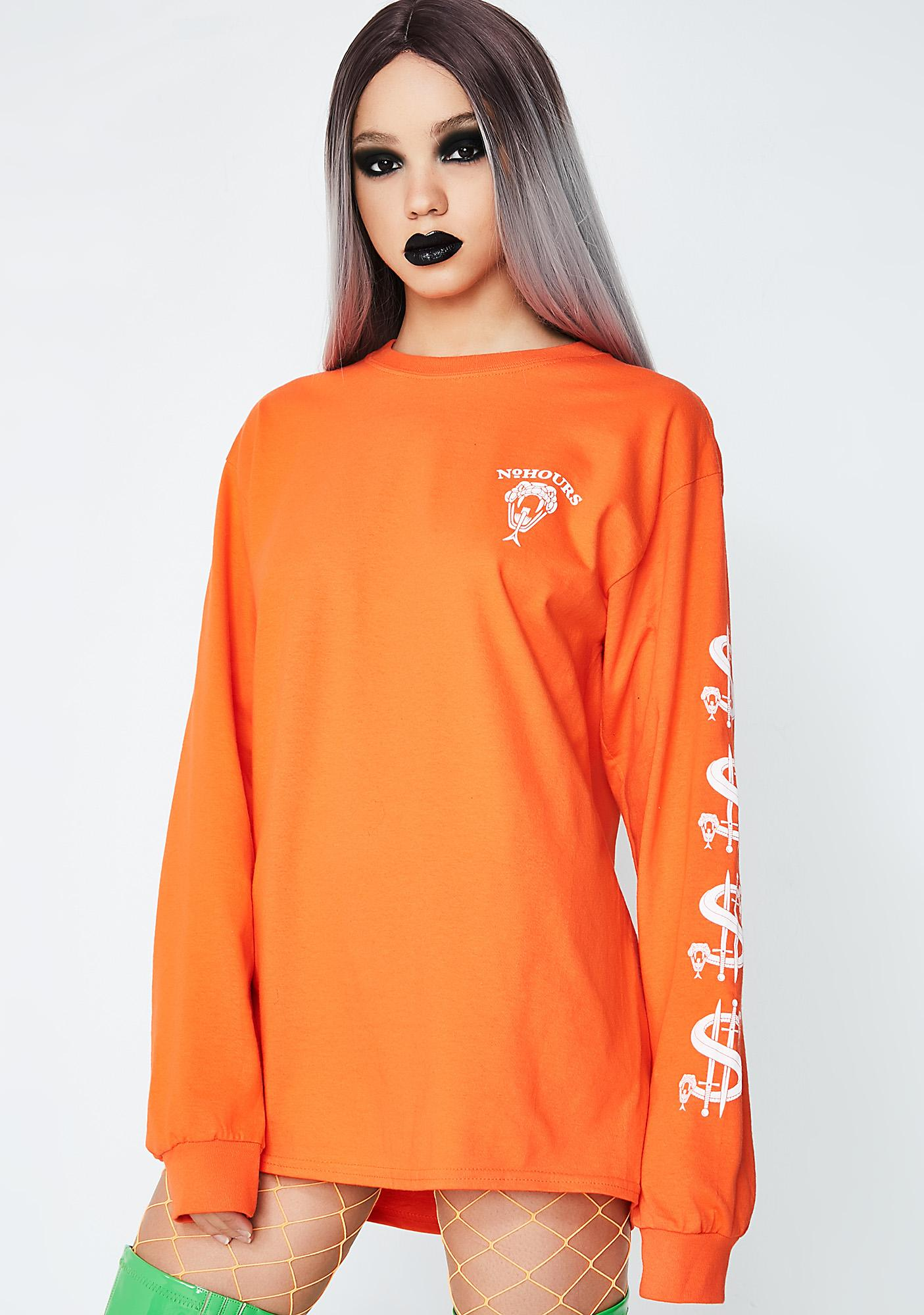 No Hours Debt Snake Long Sleeve