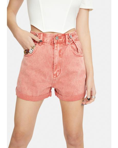 Electric Watermelon Hi & Loose Shorts