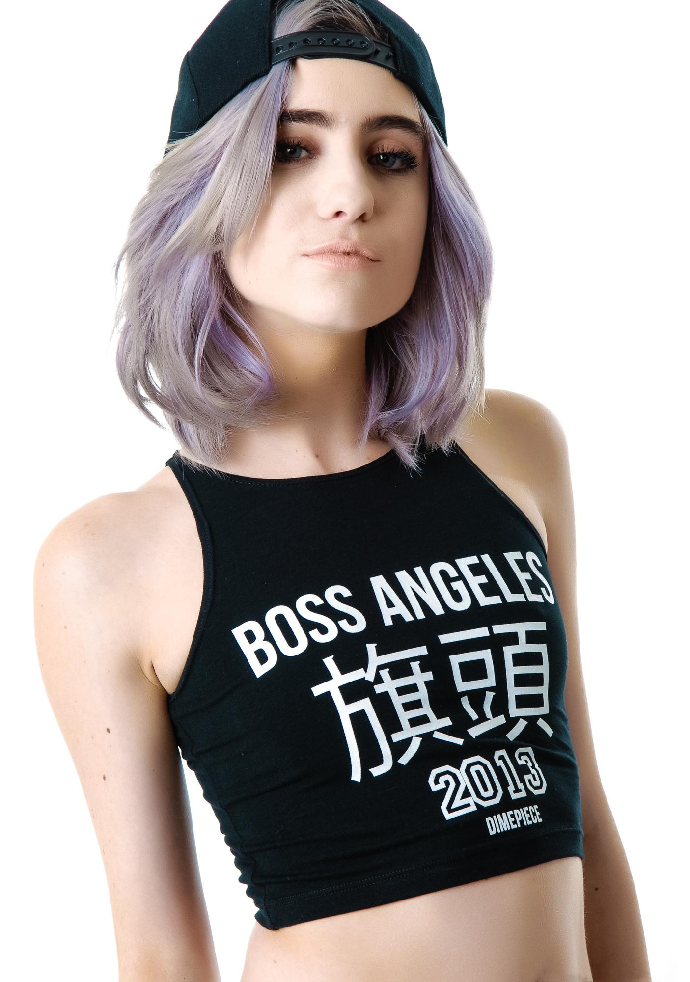 Dimepiece Boss Angeles Crop Tank