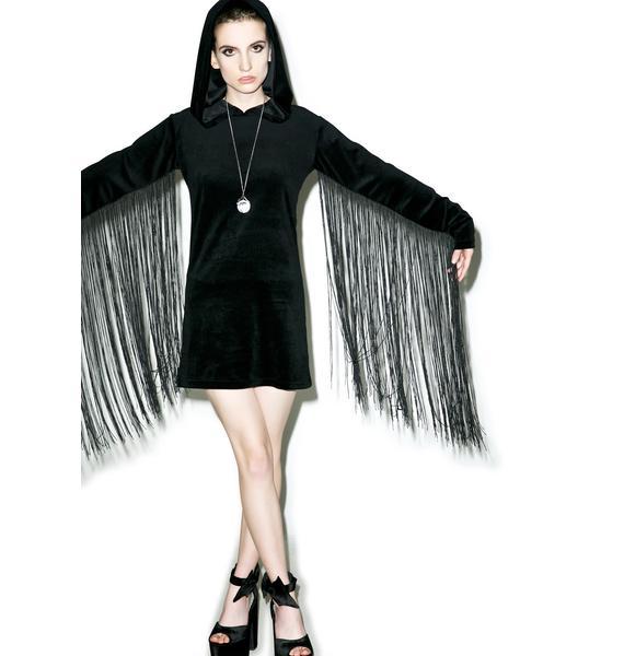 Killstar Lonewolf Velvet Dress