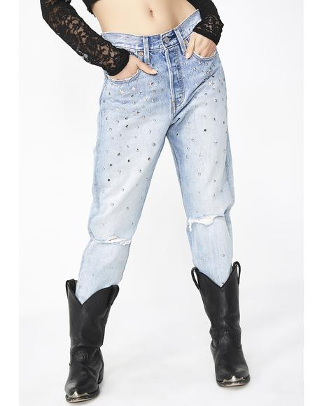 Counting Stars 501 Skinny Jeans