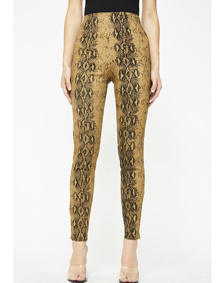 Toxic Sexy Beast High Waist Leggings