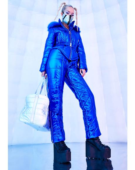 Ambient Avalanche Metallic Snowsuit