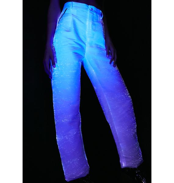 Rave Nation Fiber Optic Light Up Pants