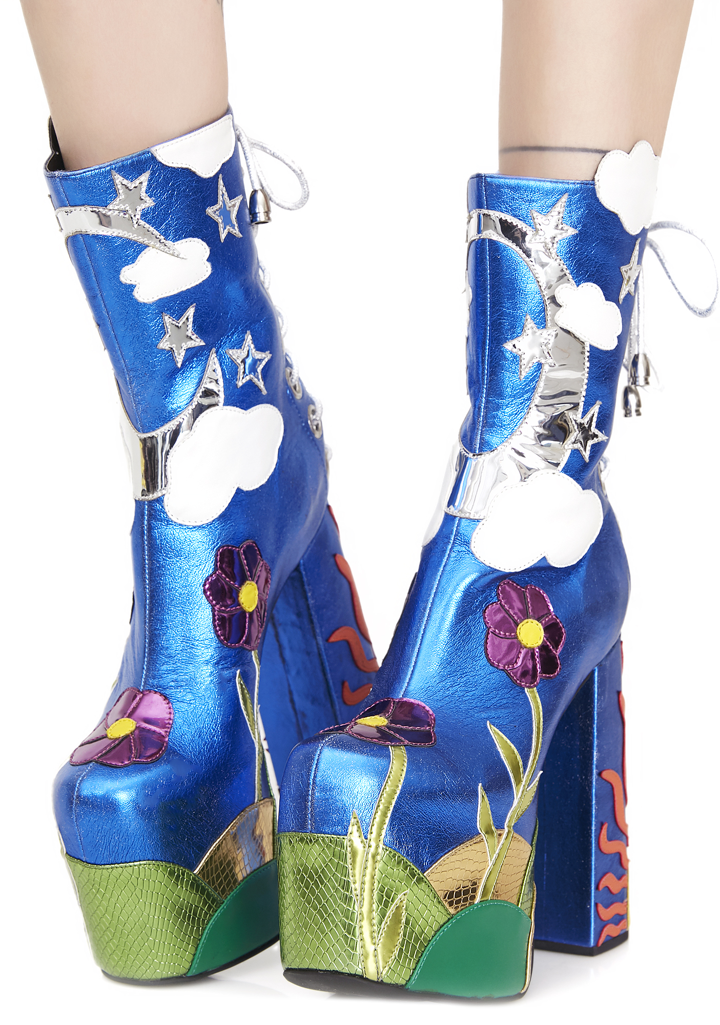 Current Mood Landscape Platform Boots