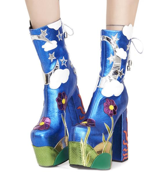 Current Mood Landscape Platform Boots