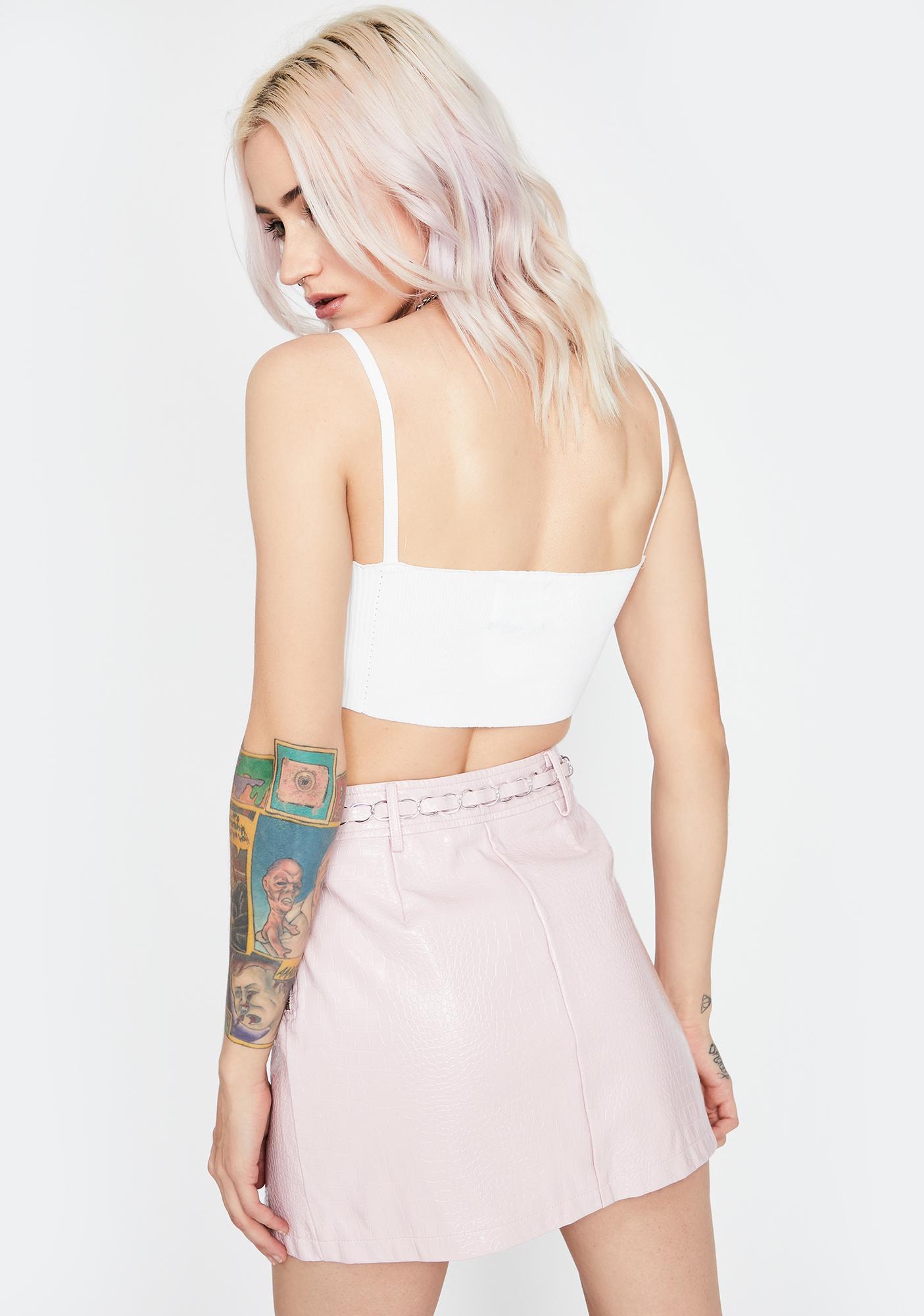 Major Trouble Mini Skirt