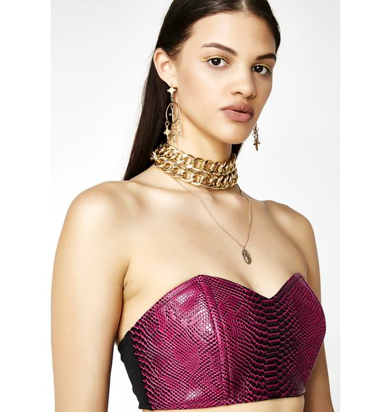 Sinful Seductress Bustier