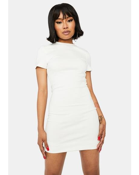 Purely Cash Needed Cut Out Mini Dress