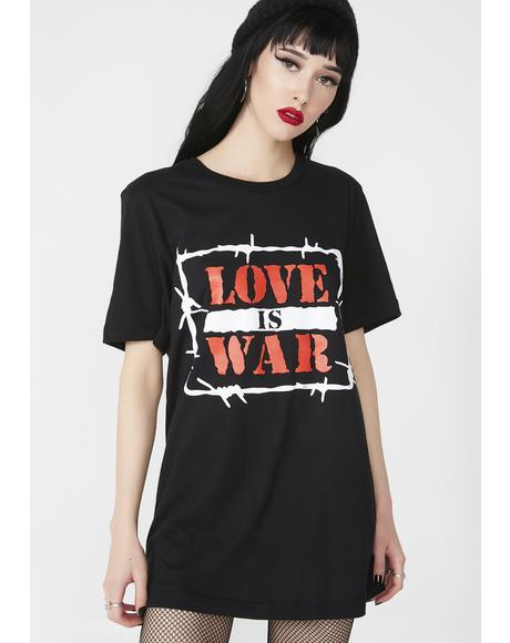 Love Is War Tee