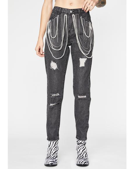 Night Precious Renegade Denim Jeans