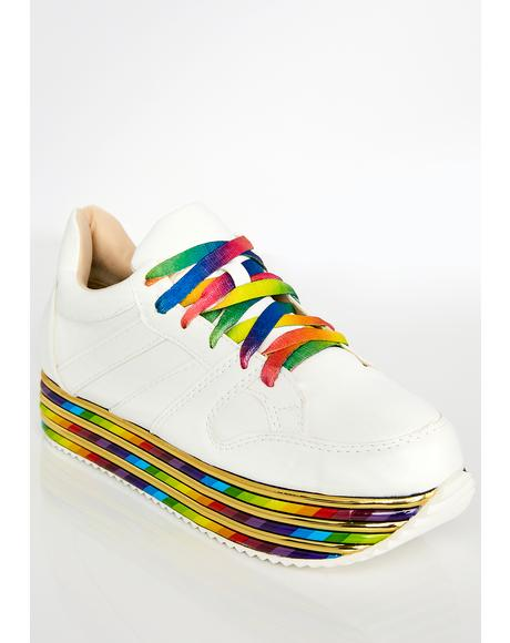 Pure Sugar Zaddy Platform Sneakers