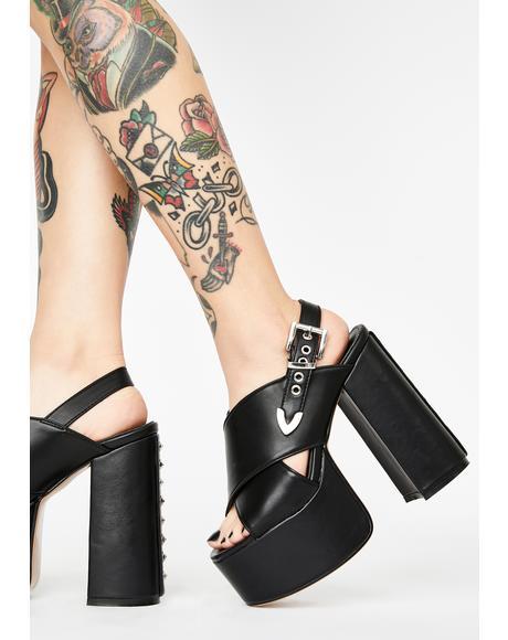 Hype Platform Heels