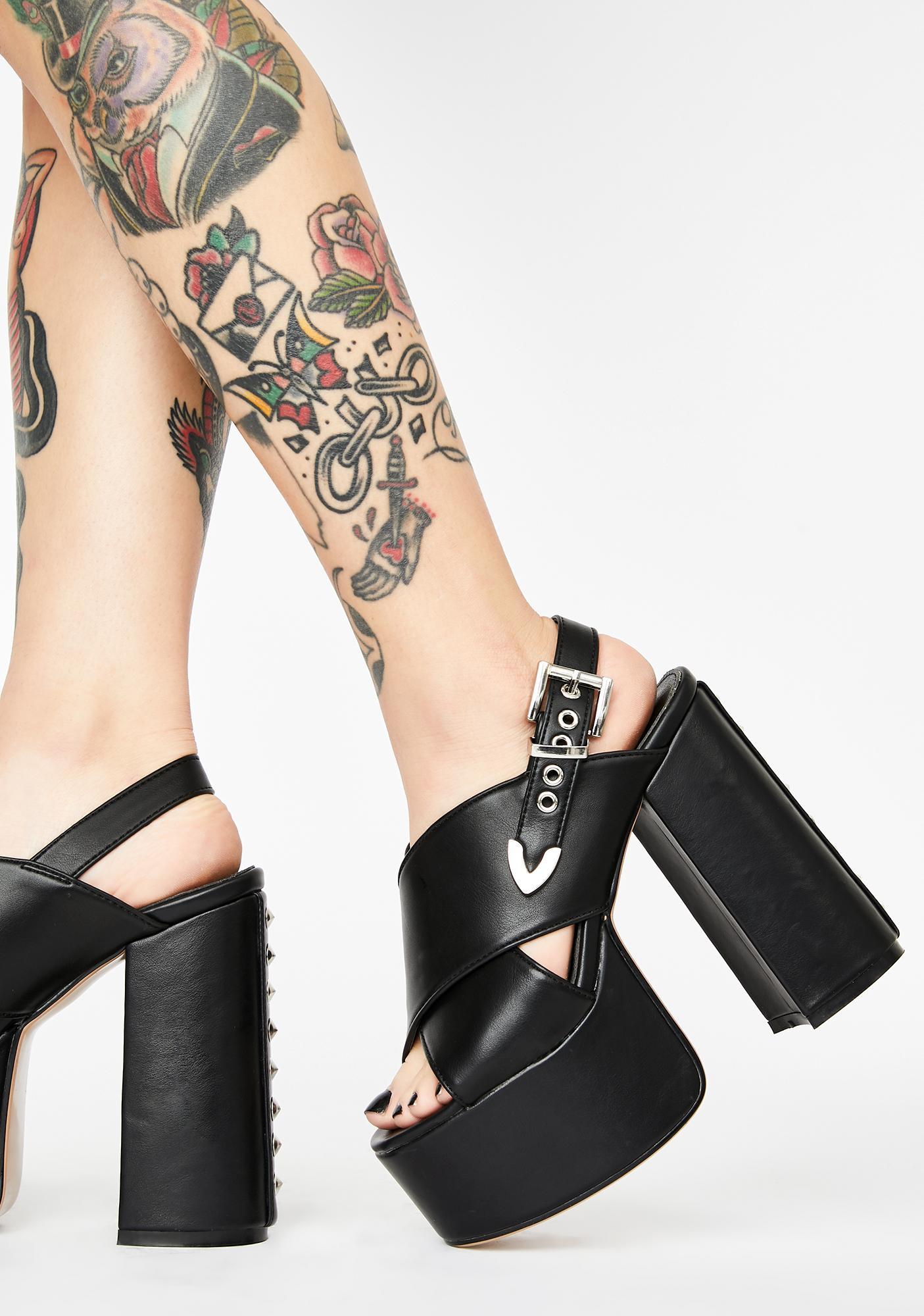 Lamoda Hype Platform Heels