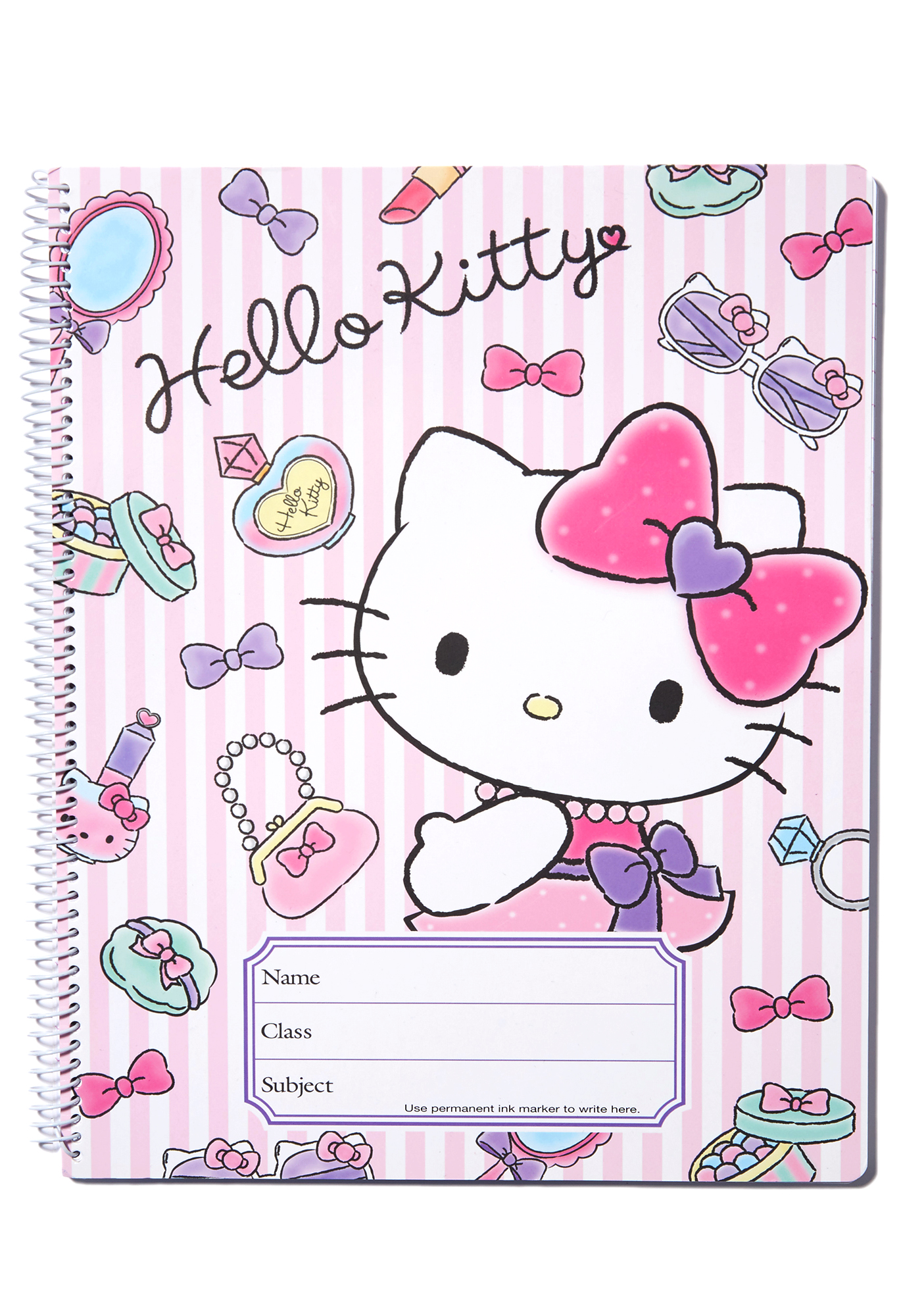 Sanrio Hello Kitty Spiral Notebook