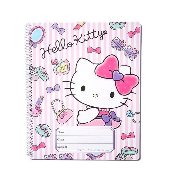 Sanrio Hello Kitty Spiral Notebook