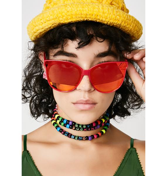 Sunrise Glammed Sunglasses