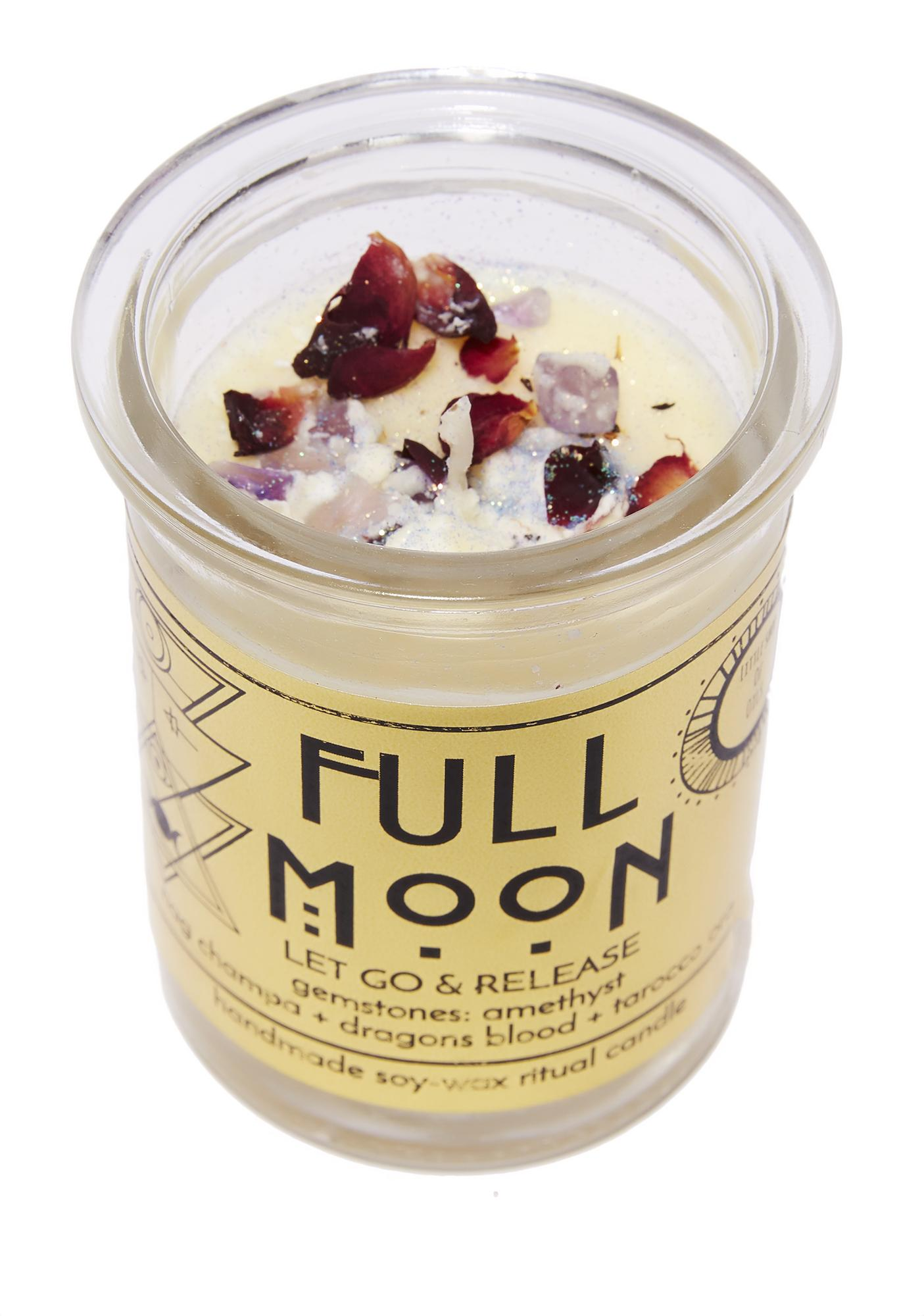 Little Shop of Oils Full Moon Ritual Candle