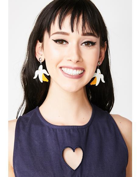 Go Bananas Drop Earrings