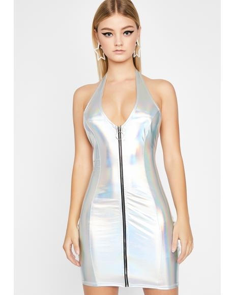 Dreamy Diva Holographic Dress