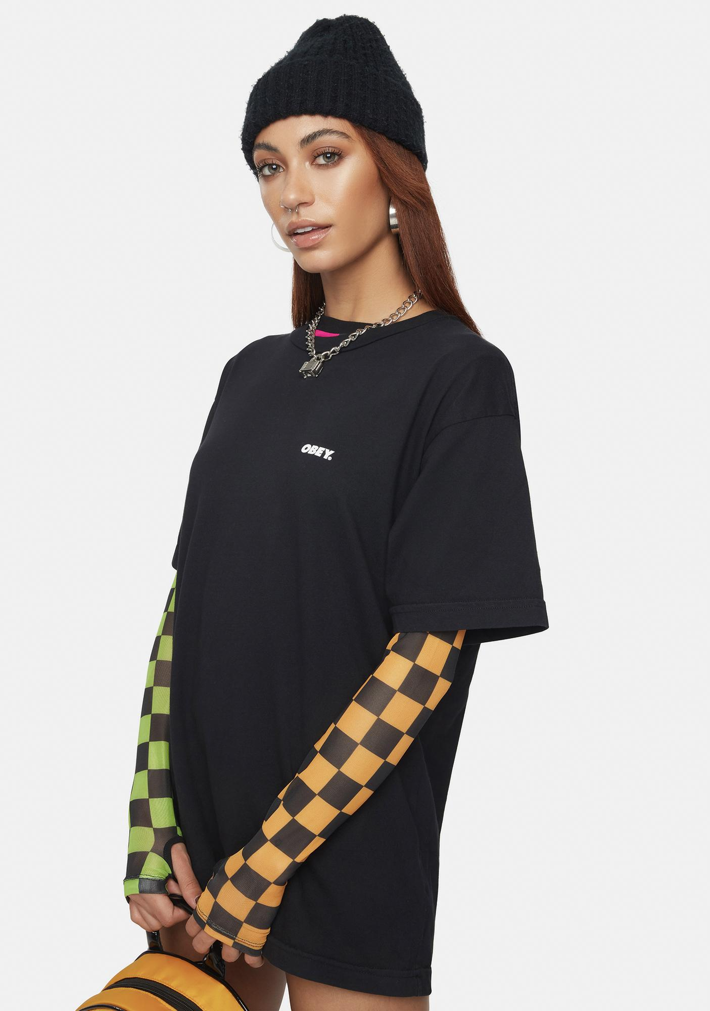 Obey Protect The Planet Organic Graphic Tee