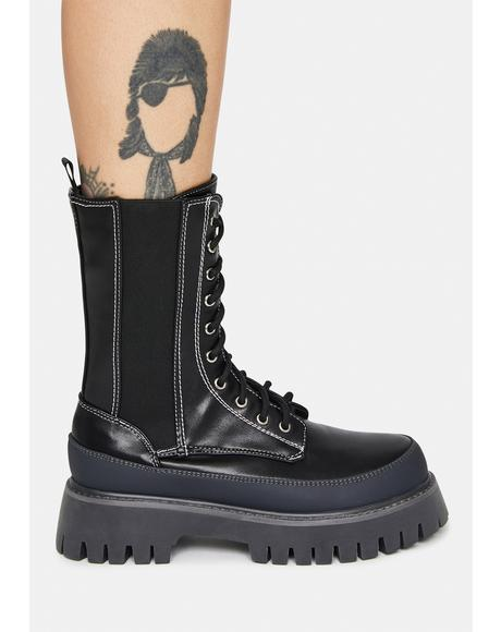Dynasty Of Kree Combat Boots