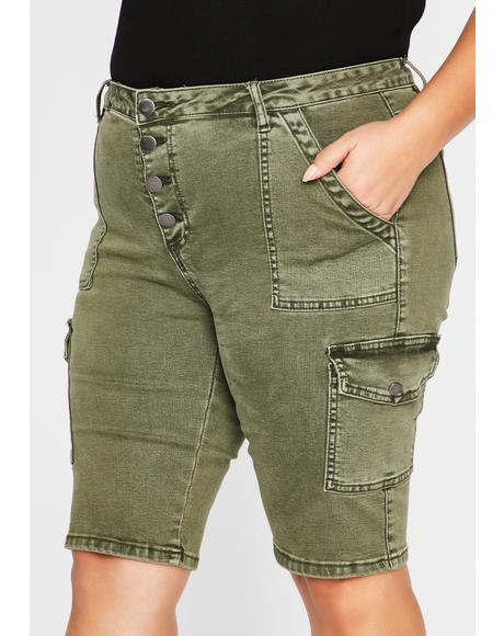 Mz Operation Baddie Bermuda Shorts