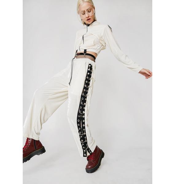 Whatever 21 Velour Breakaway Pants