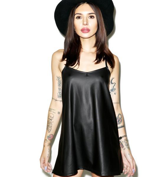 Motel Liquid Ink Meadow Slip Dress